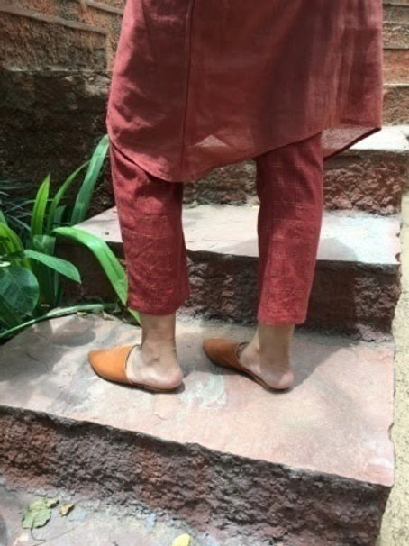 Zari Checks - Straight Pants