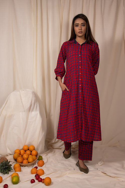 Redheart Tunic and Pants Set