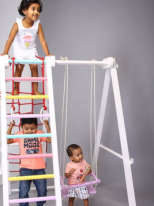 Indoor Jungle Gym - Colored