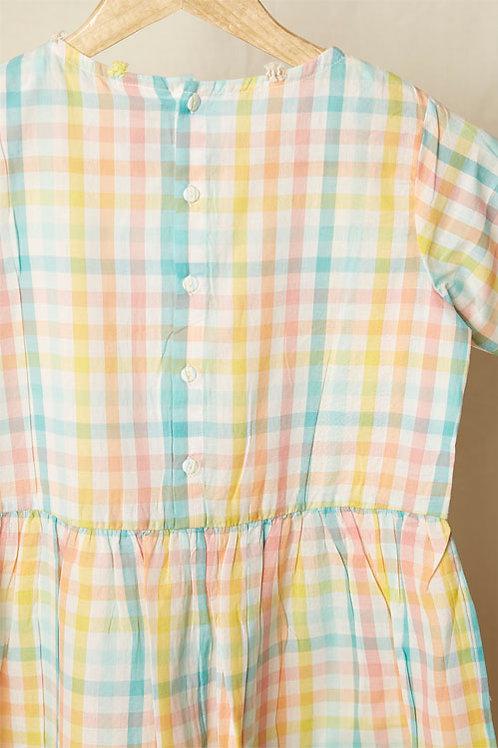 Candy Madras Checks Dress