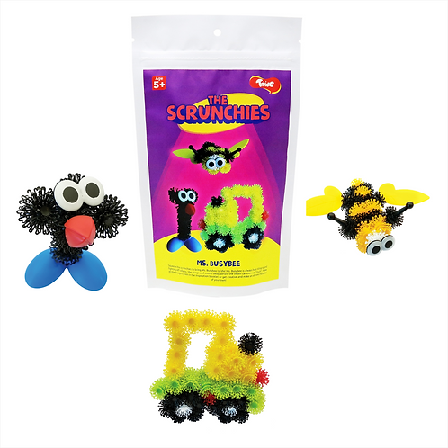 Scrunchies Ms Busybee: Innovative Construction & Building Set