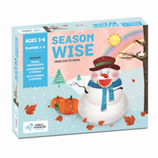 Chalk and Chuckles Season Wise- Quick Thinking, Sorting, Preschool Learning Game
