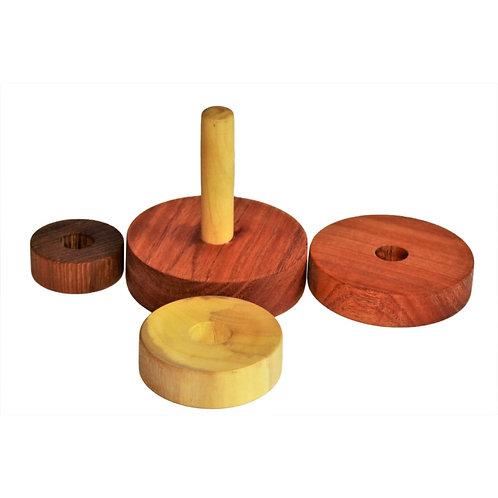 Three Discs Stacker (Natural)
