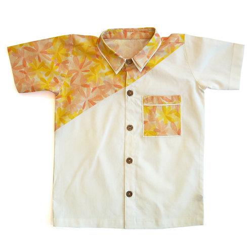 Apricot Blooms Shirt