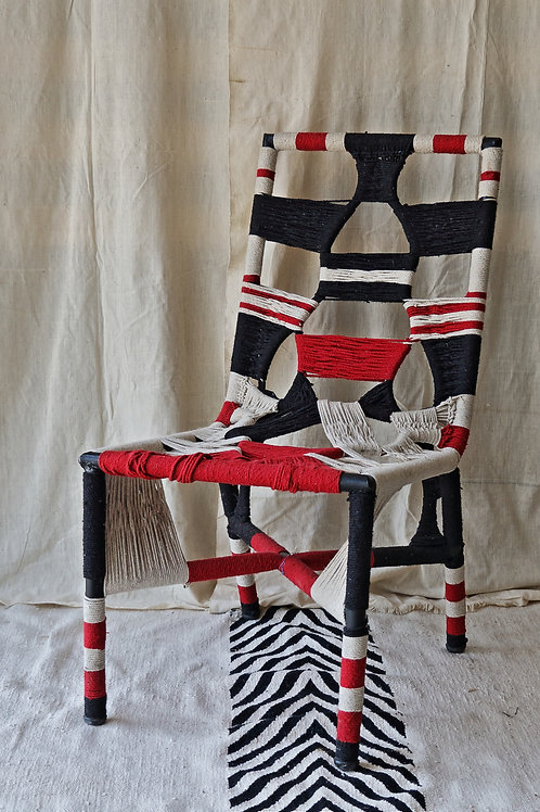 Rectangle handwoven Chair