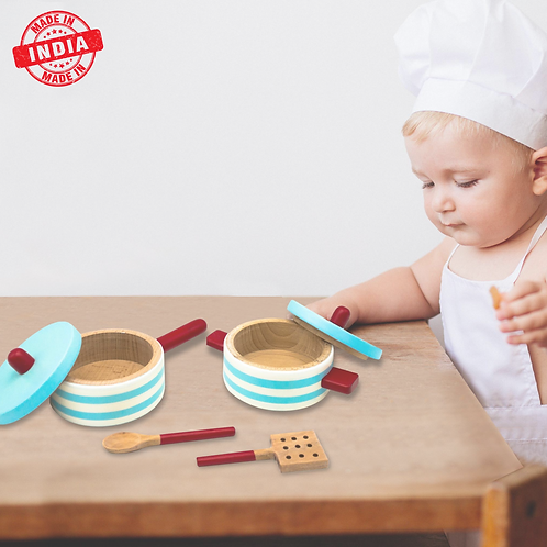 Pot & Pan Set with 2 Cooking Spoons