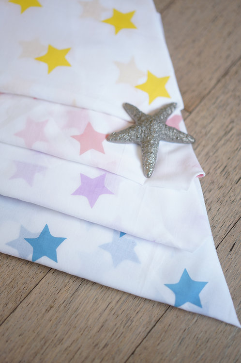 Wish upon a star' Organic Cotton Swaddle (Set of 4)