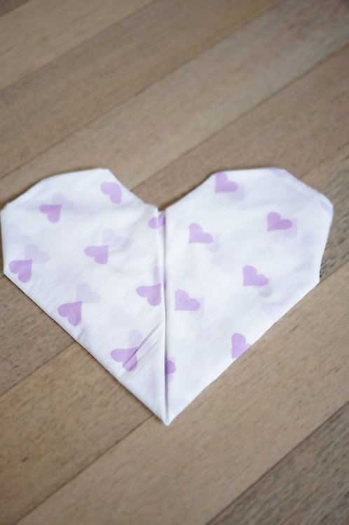 Grace' Organic Cotton Swaddle in Lilac