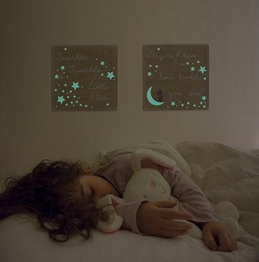 Twinkle twinkle little star wall art