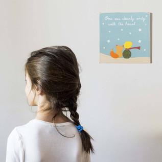 Little Prince nursery wall art