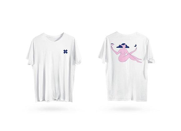 camiseta têmis . preta ou branca