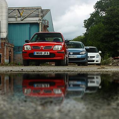 Nissan Micra, Suzuki Swift, VW Golf