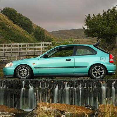 Modified Honda EJ9 Civic