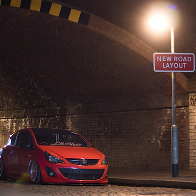 "Modified Vauxhall Corsa - ""Corsaghini"""