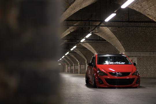 Modified Vauxhall Corsa
