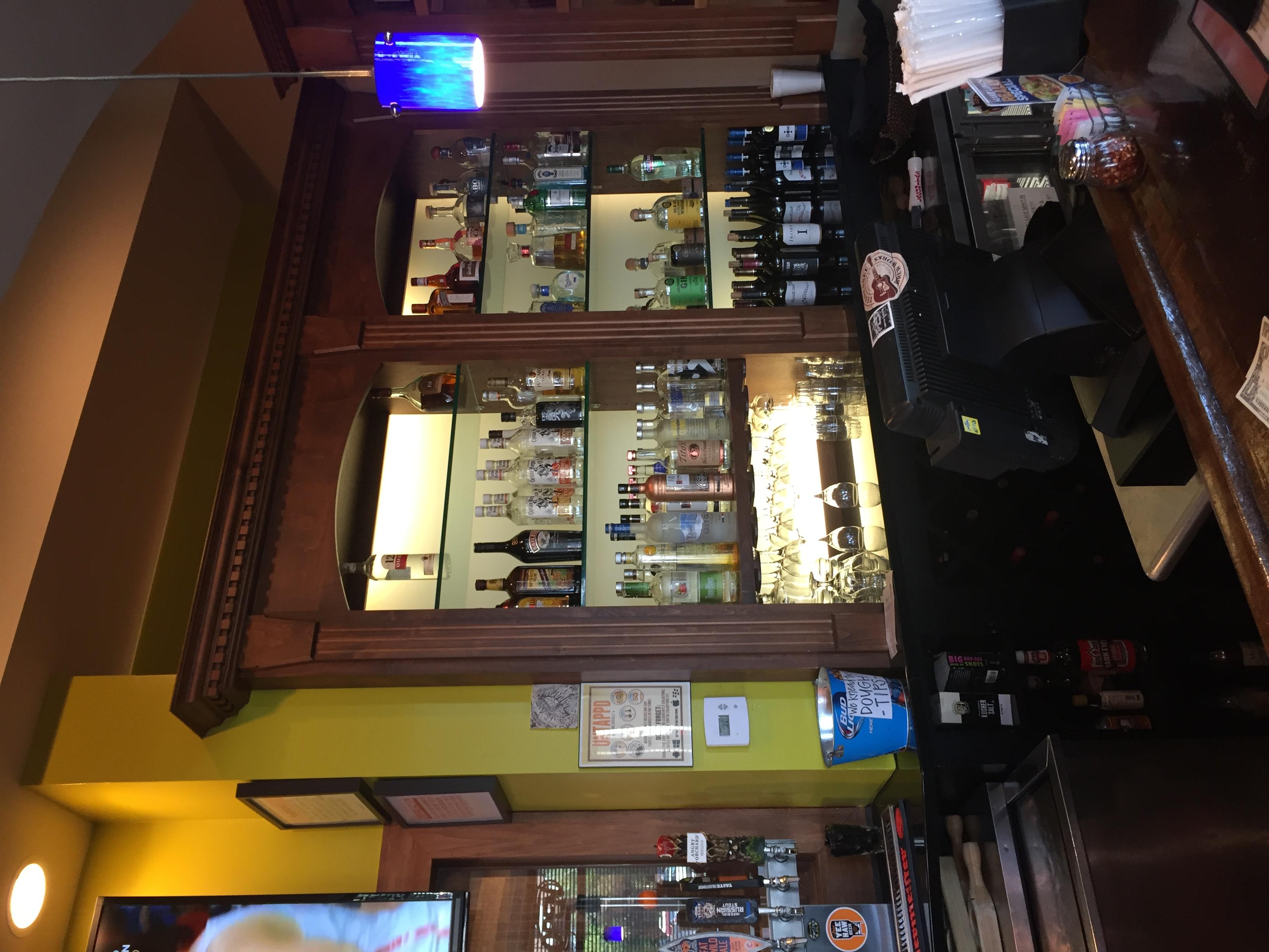 Before Brixx Pizza Bar Area