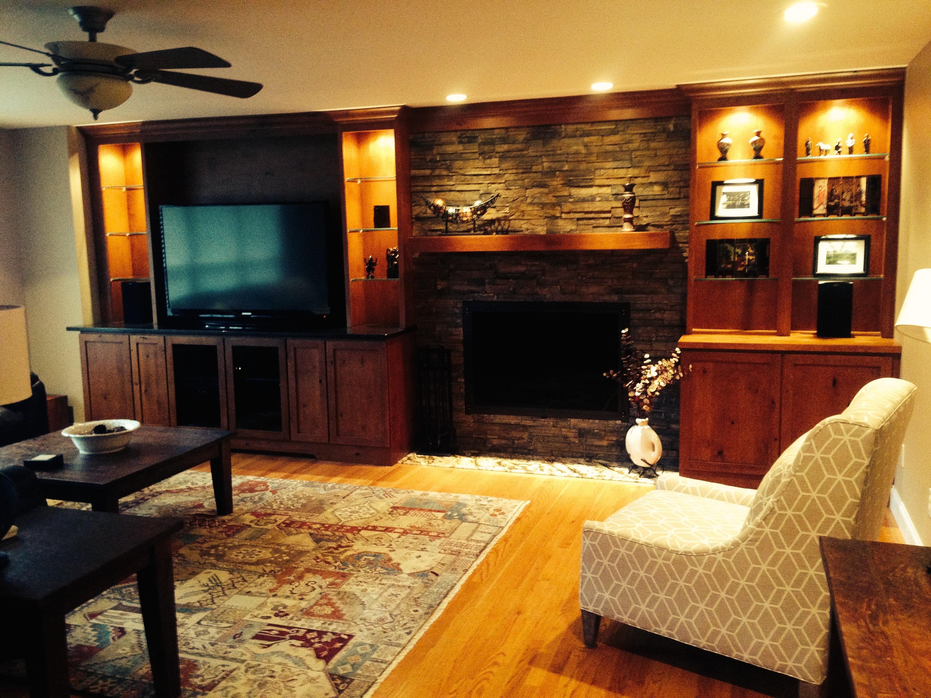 A Gentlemens Living Room