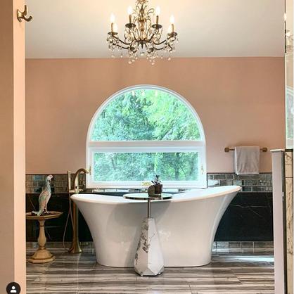 Glam Nature Master Bath