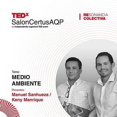 TEDxSalonCertusAQP2019 - Medio Ambiente