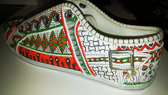 Doodle-Schuh