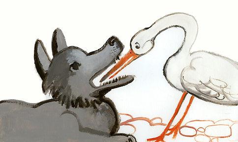 il lupo e l'airone Giovanni Rizzo 2015