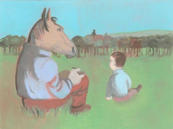 Bestiario. Cavallo di Giovanni Rizzo