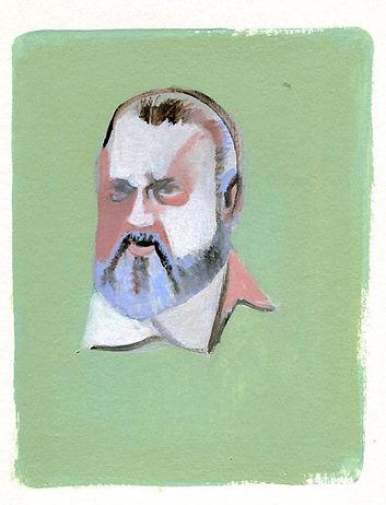 Orson welles portrait illustration