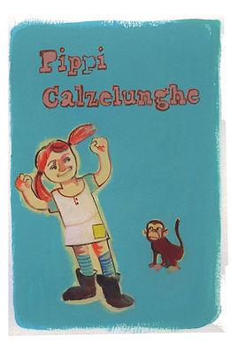 Illustrazione per il concorso della Salani sui 150 anni di Pippi Calzelunghe