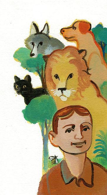 Pino Buffo- Illustrazione per il Messaggero dei ragazzi