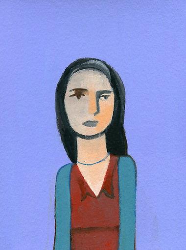 Ritratto di donna woman,