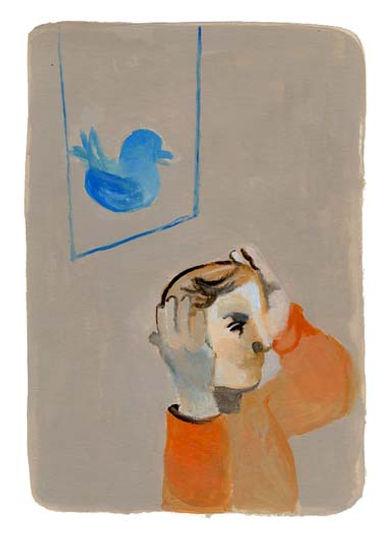Twitter illustration