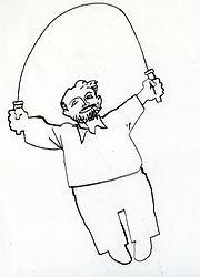 disegno apparso su Linea d'ombra 1997
