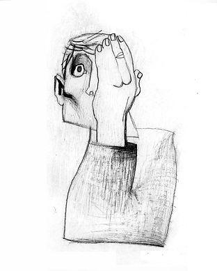 """illustrazione per """"Nessuno tocchi Caino""""1998"""