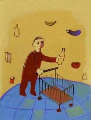 """Illustrazione per """"La nuova ecologia"""" di Giovanni Rizzo"""