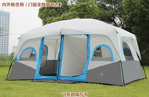 2018 camel Hot sale outdoor 6 8 10 12 persons beach camping tent anti/proof