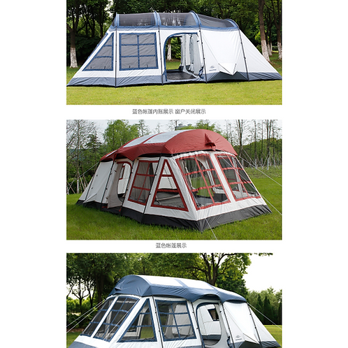 8-12Persons double layer outdoor family two bedrooms& one liveing room house