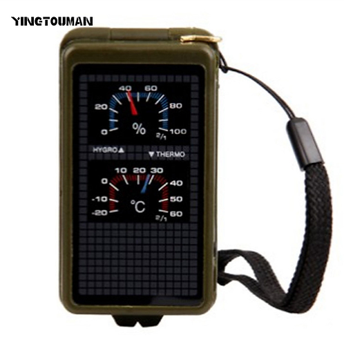 YT Portable Multi-functional Compass Camping Survival Compass Compass Camping