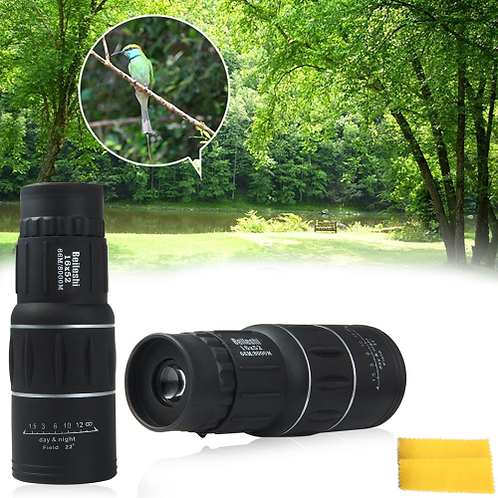 Beileshi 16 x 52 Dual Focus Monocular Spotting Telescope Zoom Optic Lens
