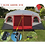 Thumbnail: Ultralarge 6-10 person double layer two bedroom party family beach tourist