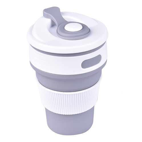 Collapsible Silicone Outdoor Tableware Portable Camping Cup Retractable Drinking