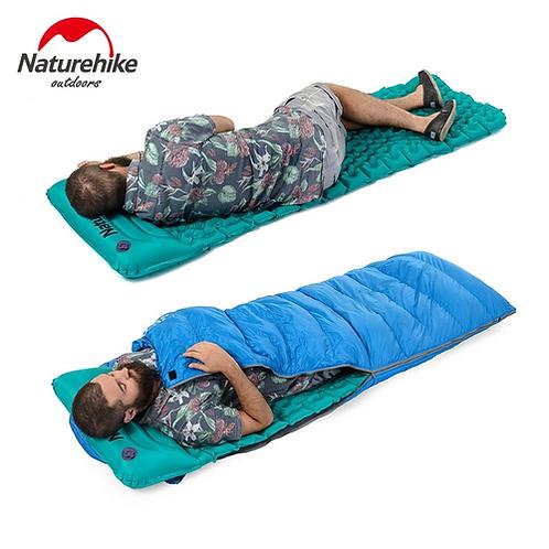 Naturehike Outdoor Inflatable Cushion Sleeping Bag Mat Fast Filling Air Moisture