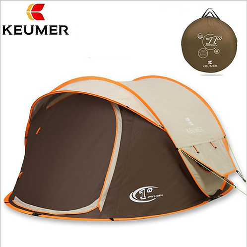 Outdoor Automatic Pop Up 3 Person Professional Waterproof Windproof Uv