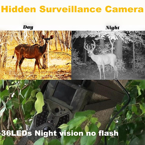 Deer Trail Cameras hunting 12MP 1080P Photo Trap Motion trigger Night Vision