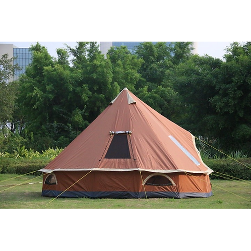 TY 4M Campping Bell Tent 300D Oxford Fabric Waterproof 6000 PU 10 Person for
