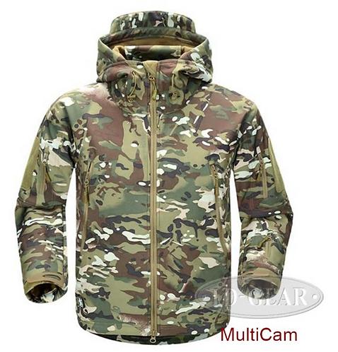 ESDY Men Outdoor Jacket Coat Water-resistant Luker TAD Shark Skin Soft Shell