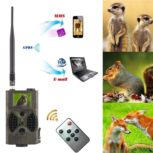 GSM MMS GPRS hunting trail camera hc 300m Suntek with 940nm Night vision LEDs