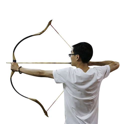 30-50lbs Archery Pure Handmade Recurve Bow Traditional longbow Wooden Hunting