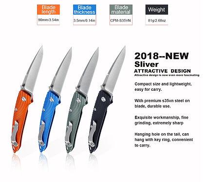 Kizer folding knife pocket knife high quality edc survival knife s35vn steel bla