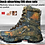 Thumbnail: CUNGE Outdoor Tactical Sport Men's Shoes For Camping Climbing boots Men Hiking