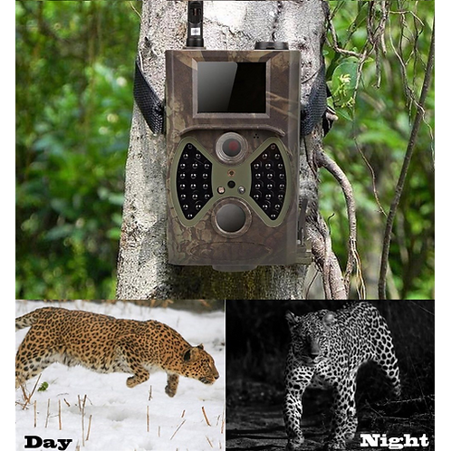 12MP Photo Traps Email MMS GSM 1080P Night Vision Hunting Traps HC300M Wild